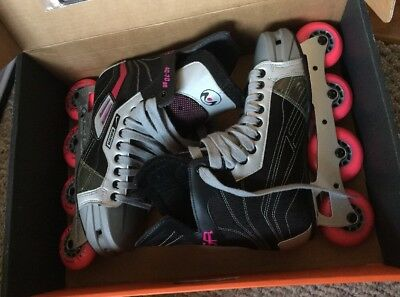 Nike Bauer Mega 40-70 Tuuk One Up Performance Inline Rollerblades US 10R US 11.5