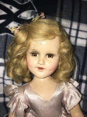 "Madame Alexander 18"" Sonja Henie Composition Doll w/ Original Outfit"