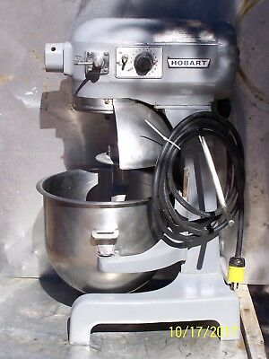 Hobart Commercial Counter Top A-200T Mixer 20 Qt Bowl & Dough Hook