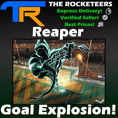 [PC STEAM] Rocket League Reaper Import Haunted Hallows Goal Explosion Cheapest