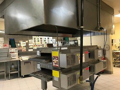 Middleby Marshall PS770G WOW Double Deck Gas Conveyor Pizza Oven