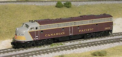 Canadian Pacific E8 locomotive N scale BLI DCC  + sound CPR #1802