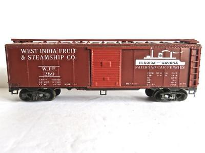 HO VINTAGE VARNEY West Indian Fruit & Steamship Company Box Car with KD's