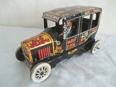 Old Tin MARX JALOPY *Vintage WIND-UP Toy Car