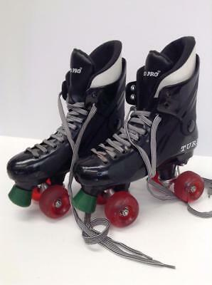 Ventro Pro Turbo Roller Skates Red Wheels