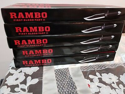 Rambo First Blood Part II Signature Edition Hunting Survival Machete Knife
