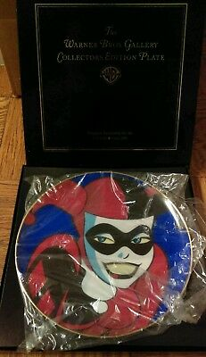 Harley Quinn WB Studio Store Limited Edition Collector Plate