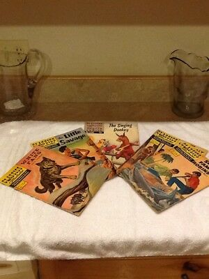 5 Comics, Classics Illustrated, 1947 To 1960