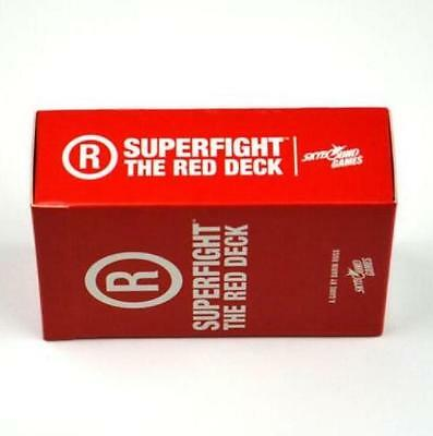 SUPERFIGHT: RED Expansion Game-Factory Sealed Deck Card
