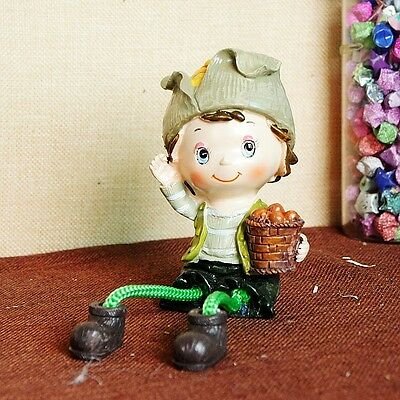Exquisite creative resin hanging feet vegetable doll statue 851610