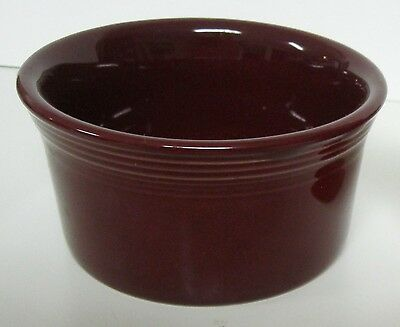 Fiesta Maroon Small Bowl - Excellent!
