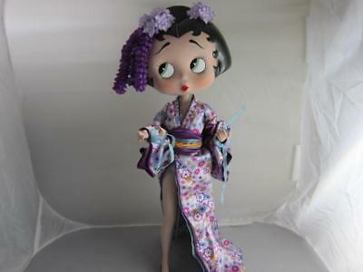 Betty Boop Geisha in Kimono Betty Limited Edition The Danbury Mint Collection