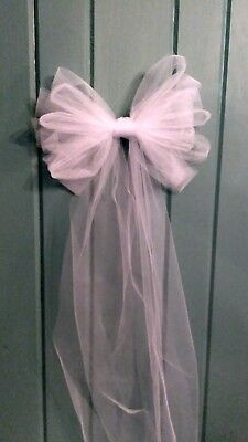 SALE 12pc Wedding White Black /& BLING Pew Bows  ANY COLOR  RUSH ORDERS AVAIL