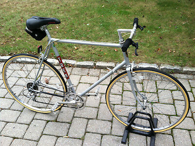 Trek 400 vintage mens bike silver mans 61 cm racing touring road bicycle USA