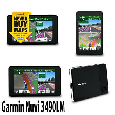 "Garmin nüvi® 3490LM Gps Bluetooth Lifetime Maps Speed limit indicator 4.3"" Gps"