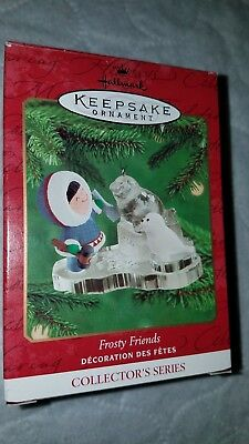 Hallmark Frosty Friends 2000 Christmas Holiday Ornament