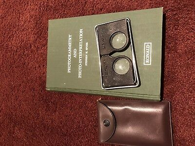 us army stereoscope and photogrammetry book