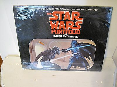 Star Wars Portfolio by Ralph McQuarrie COMPLETE and UNOPENED