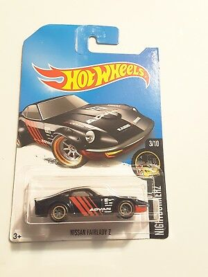 hot wheels 2017 super treasure hunt nissan fairlady Z 01