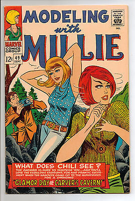 Modeling with Millie #45 (Sep 1966, Marvel) FN