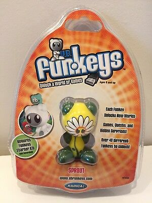 UB Funkeys Radica Sprout Rare Series 1 Wave 2 Video Game Figure New Sealed