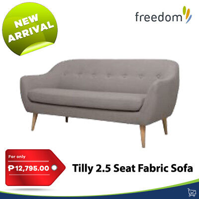 Brand new Freedom Furniture sofa lounge Scandinavian style