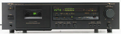 Nakamichi CR 2A - 2 Head Cassette Tape Deck - Works Great