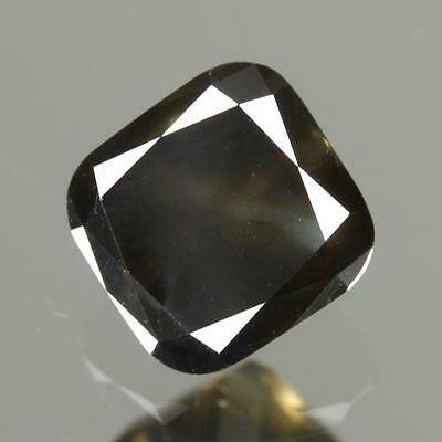 1.52 Cts !! Gray With Greenish Tint color Unheated 100% Natural Arican Diamond