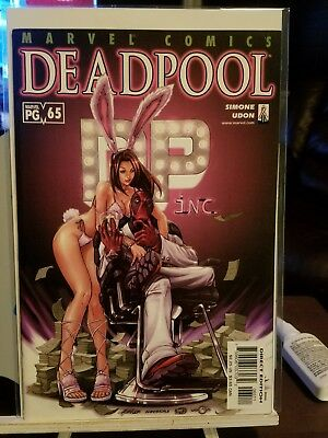 Deadpool # 65 Gorgeous Copy Bunny Cover 1St Black Swan Low Print Run!