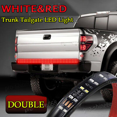 60 white red led strip truck tailgate reverse brake turn signal 60 white red led strip truck tailgate reverse brake turn signal tail light bar aloadofball Images