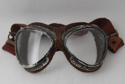 Excellent!! WW2 Vintage Japanese Pilot Goggles of Navy Flying Corps. #a6520