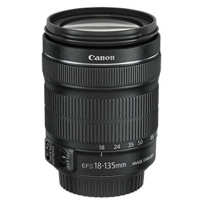Canon EF-S 18-135mm f/3.5-5.6 IS STM lens with AUST CANON WARRANTY