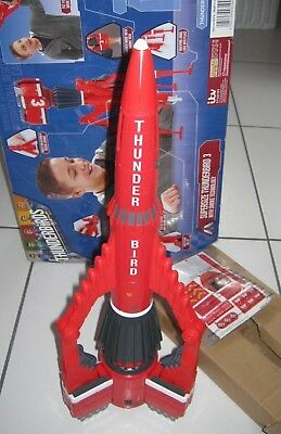 "Thunderbirds Are Go 5.4.3.2.1 Supersize Thunderbird 3 20"" Tall.brand New."