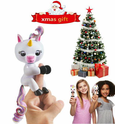 Fingerling Interactive Cute Baby Unicorn Gigi Finger Puppets Toys for children