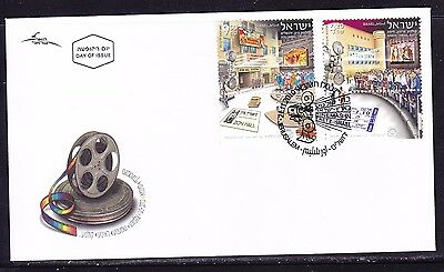 Israel 2010 Cinemas  First Day  Cover