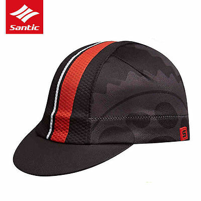 Santic Cyclinng Caps Soft Inelastic Sun Protective Riding Hats Unisex Adult