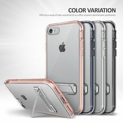 OBLIQ [Naked Shield S] Clear Hard Case Slim Dual Layer Skin for [Apple iPhone 8]