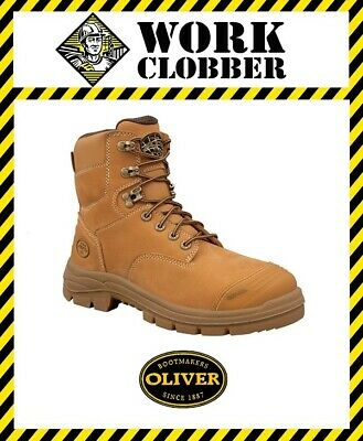 5e4a8cf5211 NEW - OLIVER Australia - STEEL CAP WORK BOOTS 34-634 - ANKLE LACE UP ...