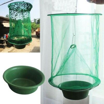 Outdoor Folding Mosquito Catching Fly Mesh Net Hanging Trap Bug Killer