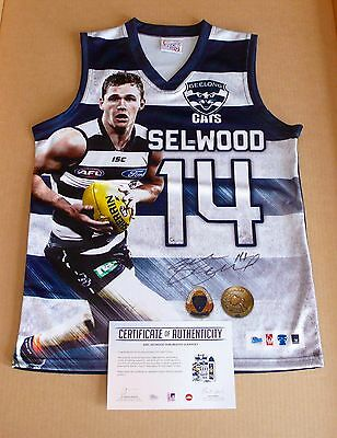 Joel Selwood  Geelong Cats  Hand Signed Guernsey