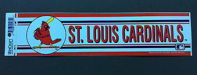 ST. LOUIS CARDINALS MLB Baseball Sticker Wincraft Sports Vintage NEW OFFICIAL