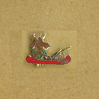 Moose On The Fishing Boat Murray D'moose Pin Old