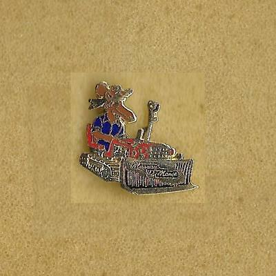 Moose On The Tractor Murray D'moose Pin Old