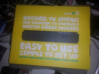 New in Box Fetch TV set top box Optus Triple Tuner 1TB hard disk built in M605T