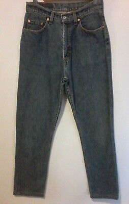 556 Levi's Vintage Extra High Waisted Jeans Old Skool New Look Denim W 31 L 33