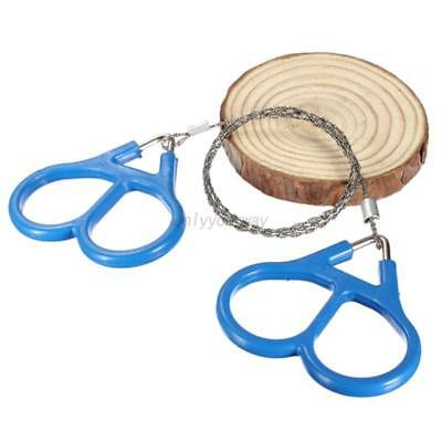 Hiking Camping Stainless Steel Ring Wire Outdoor Survival Emergency Saw Rope AU