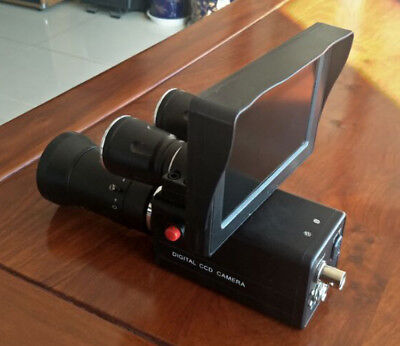 Day Night Use DIY Night Vision Scope Camera w/ 4.3in Monitor Record Function