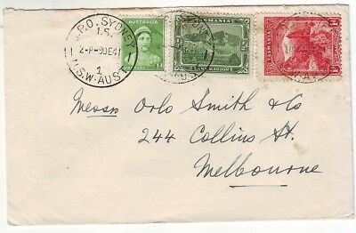 OLD SOUTH SEA  ISLAND of TASMANIA POSTAL HISTORY COVER USED in NSW