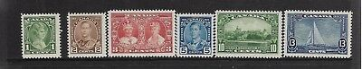 Canada 1935 Mint Silver Jubilee stamps