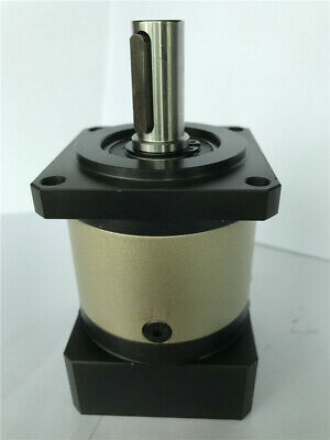 60mm planetary gear reducer ratio 3:1 to 10:1 for 400w AC servo motor shaft 14mm